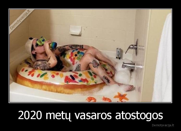 2020 metu vasaros atostogos