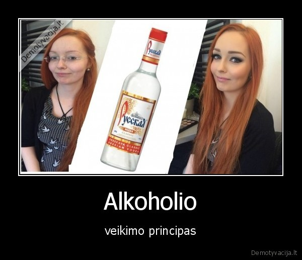 Alkoholio veikimo principas