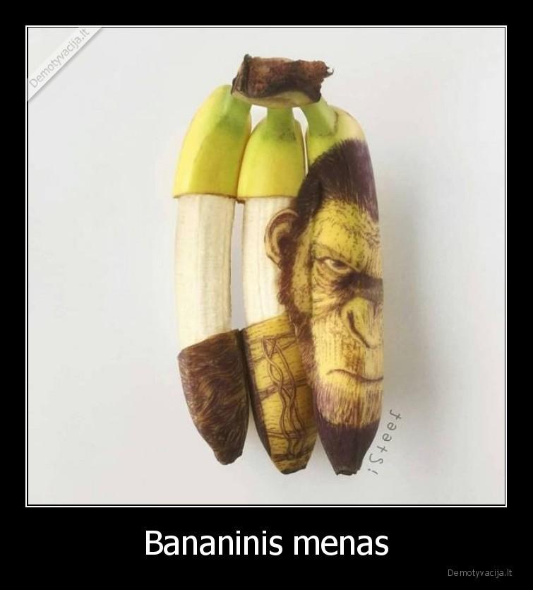 Bananinis menas