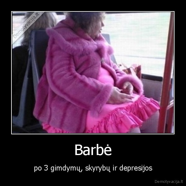 Barbe po 3 gimdymu skyrybu ir depresijos