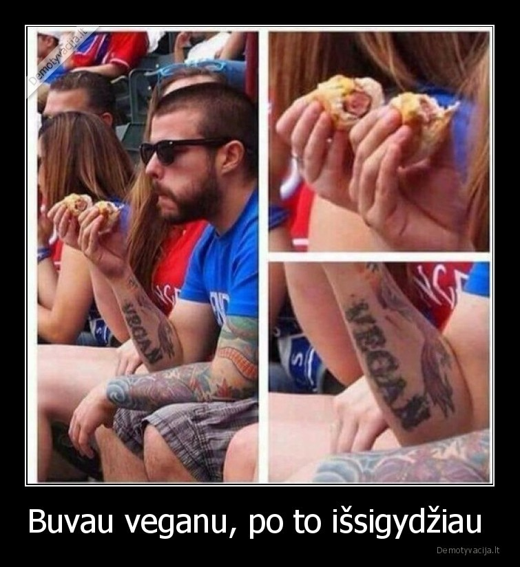 Buvau veganu po to issigydziau
