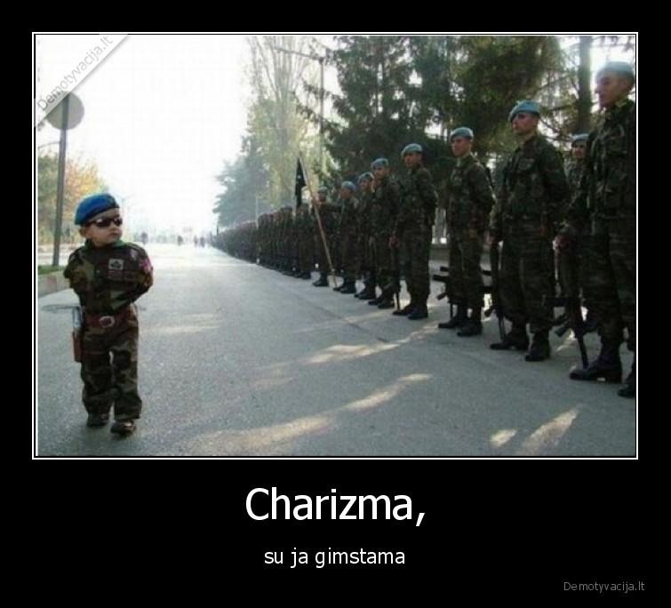 Charizma su ja gimstama