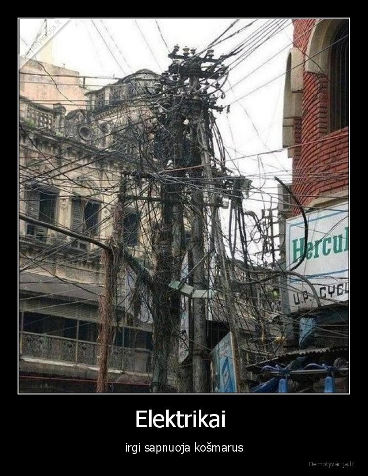Elektrikai irgi sapnuoja kosmarus