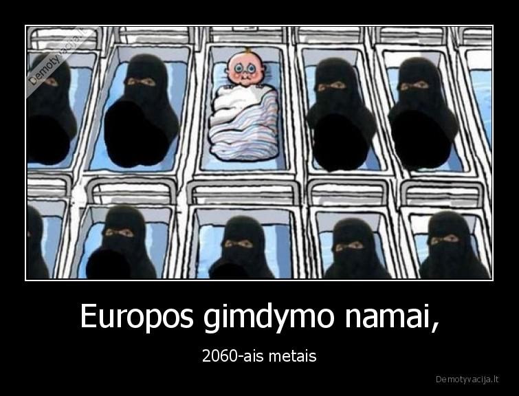 Europos gimdymo namai 2060 ais metais