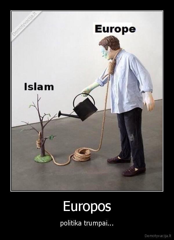 Europos politika trumpai