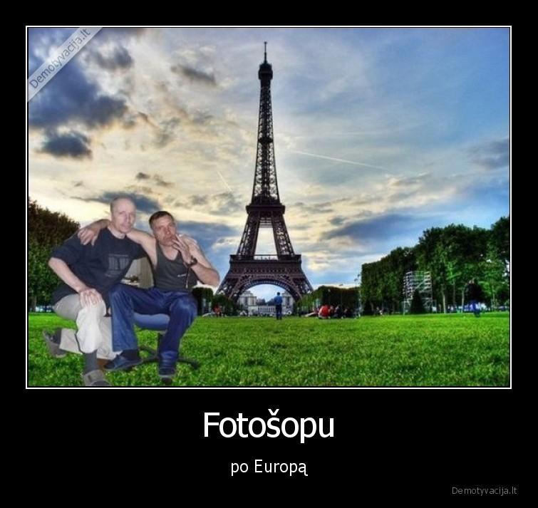 Fotosopu po Europa