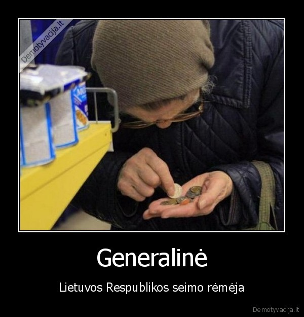 Generaline Lietuvos Respublikos seimo remeja