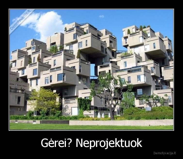 Gerei Neprojektuok