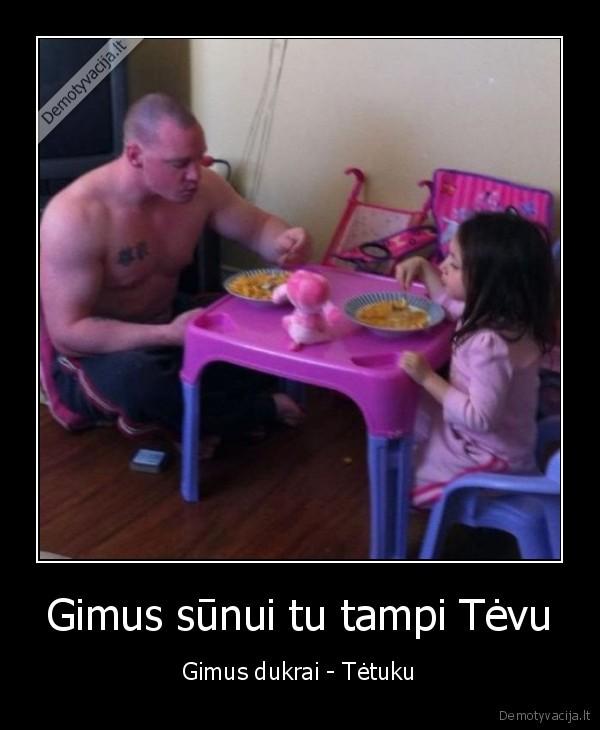 Gimus sunui tu tampi Tevu Gimus dukrai Tetuku