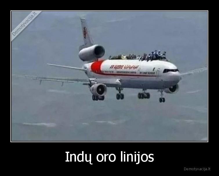 Indu oro linijos