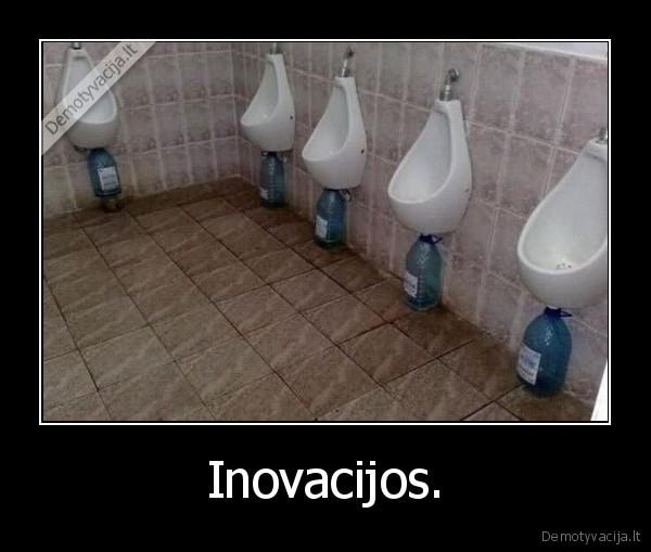 Inovacijos.
