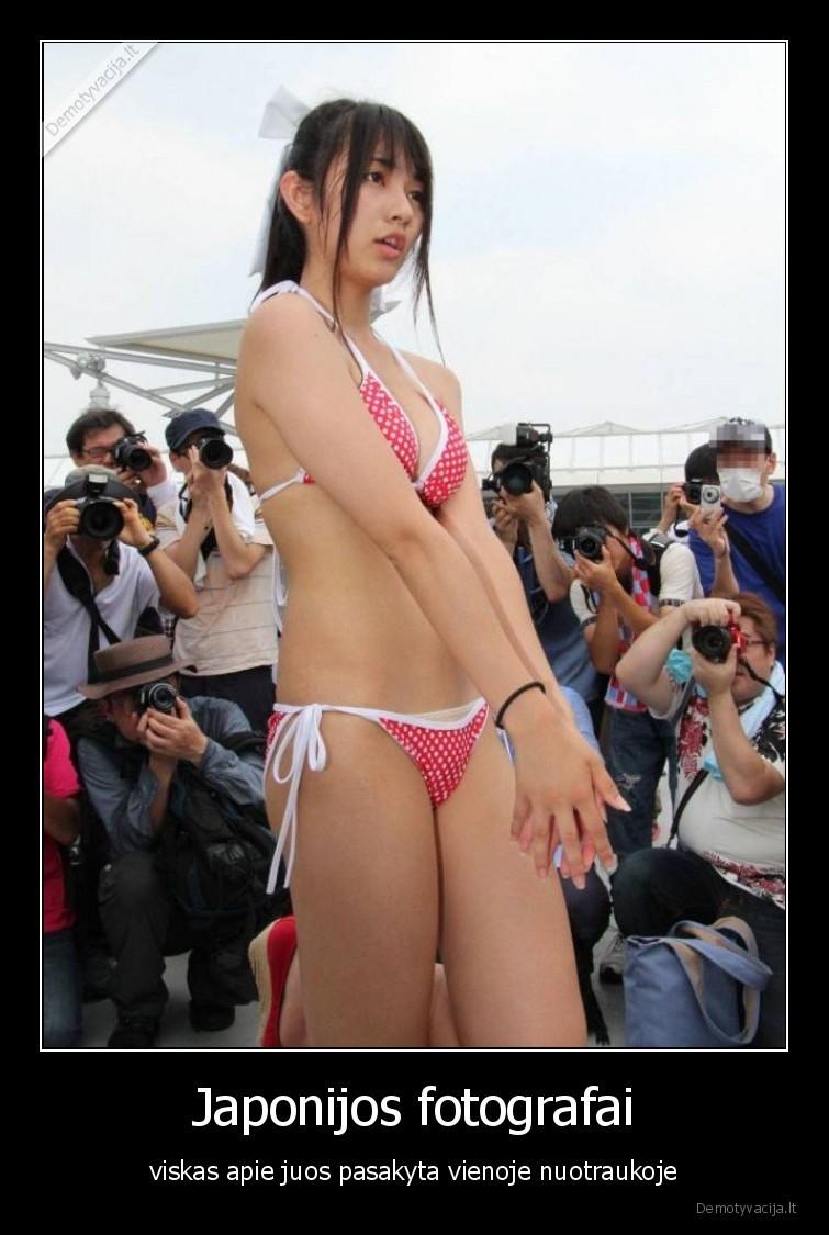 Japonijos fotografai viskas apie juos pasakyta vienoje nuotraukoje