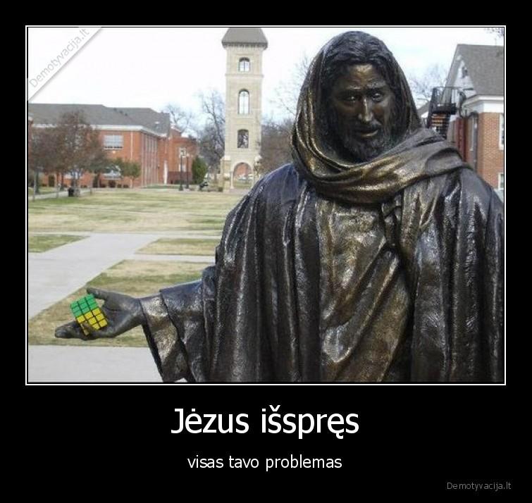 Jezus isspres visas tavo problemas