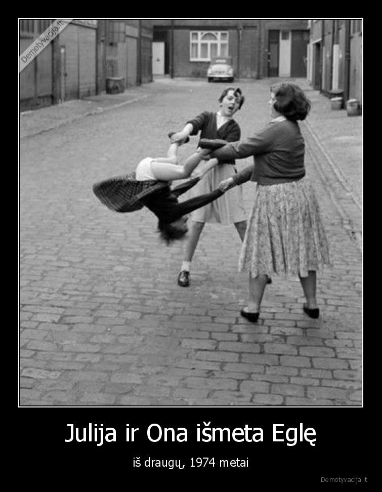 Julija ir Ona ismeta Egle is draugu 1974 metai