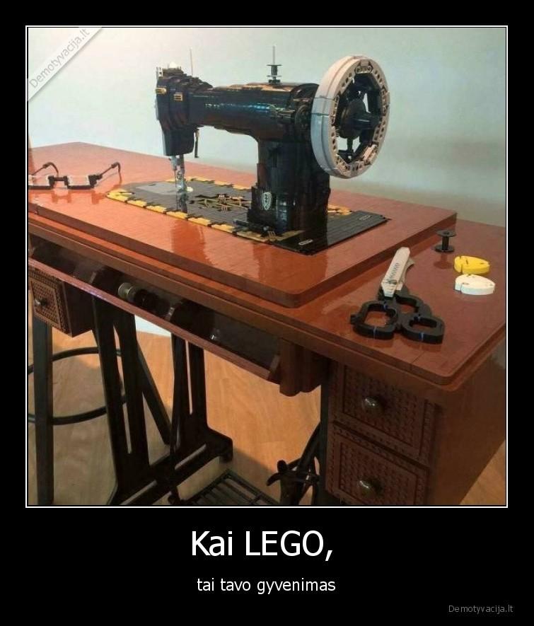 Kai LEGO tai tavo gyvenimas