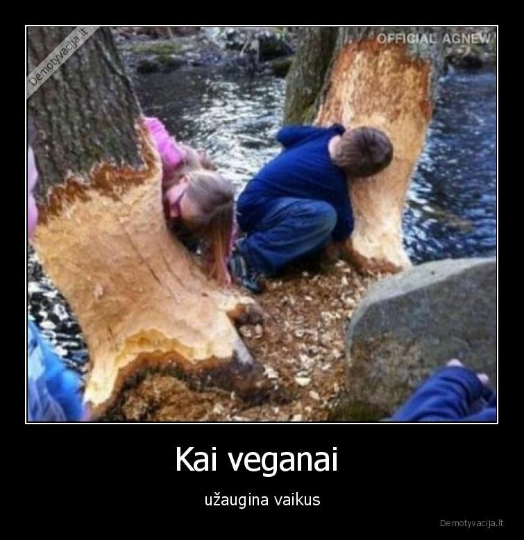 Kai veganai uzaugina vaikus