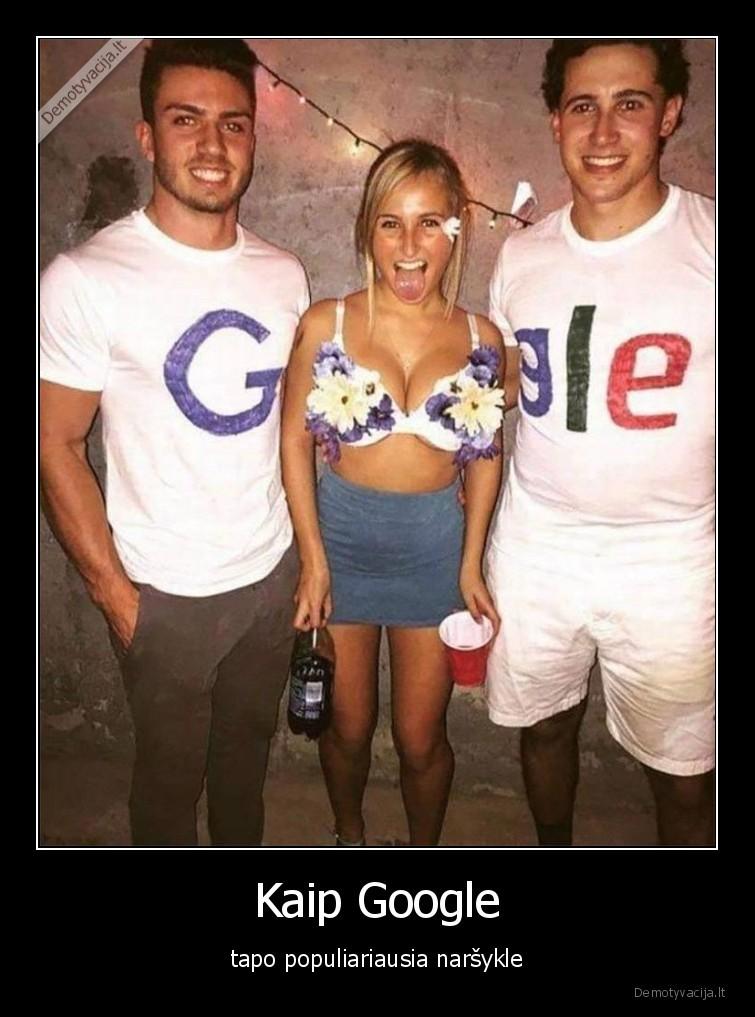 Kaip Google tapo populiariausia narsykle