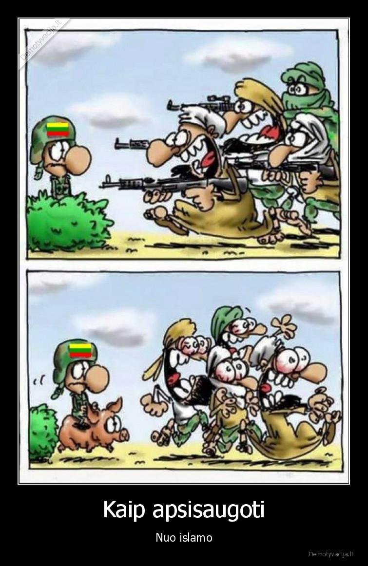 Kaip apsisaugoti Nuo islamo