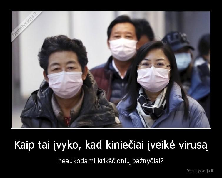 Kaip tai ivyko kad kinieciai iveike virusa neaukodami krikscioniu baznyciai