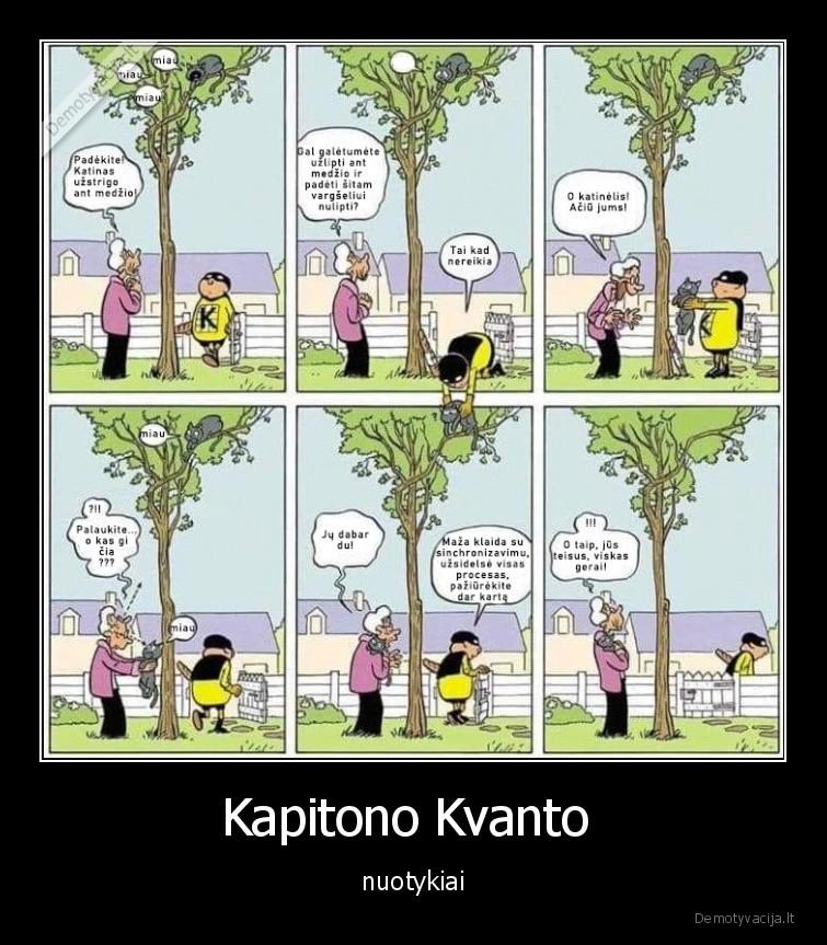 Kapitono Kvanto nuotykiai