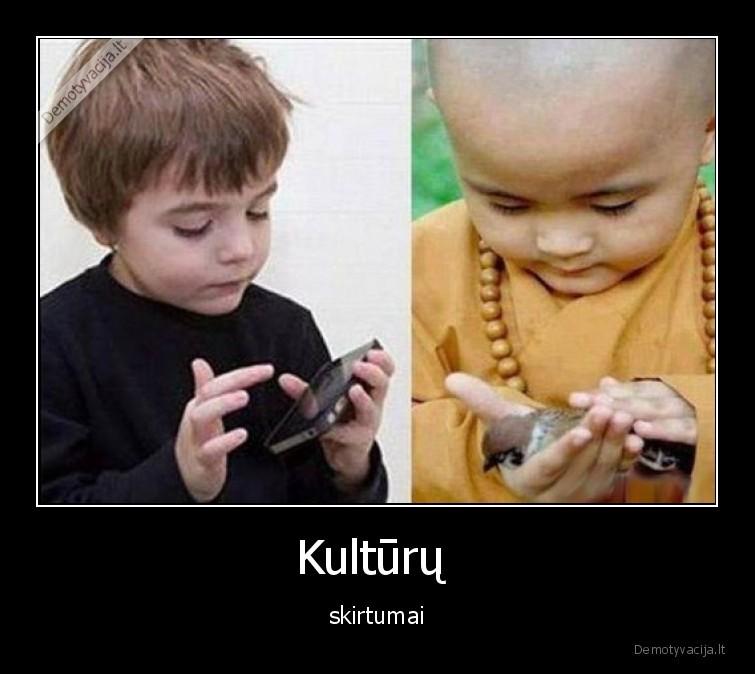 Kulturu skirtumai