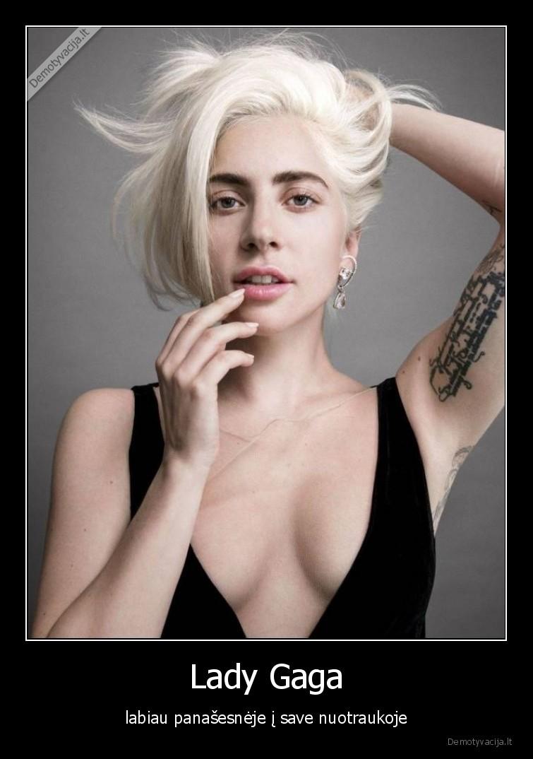 Lady Gaga labiau panasesneje i save nuotraukoje