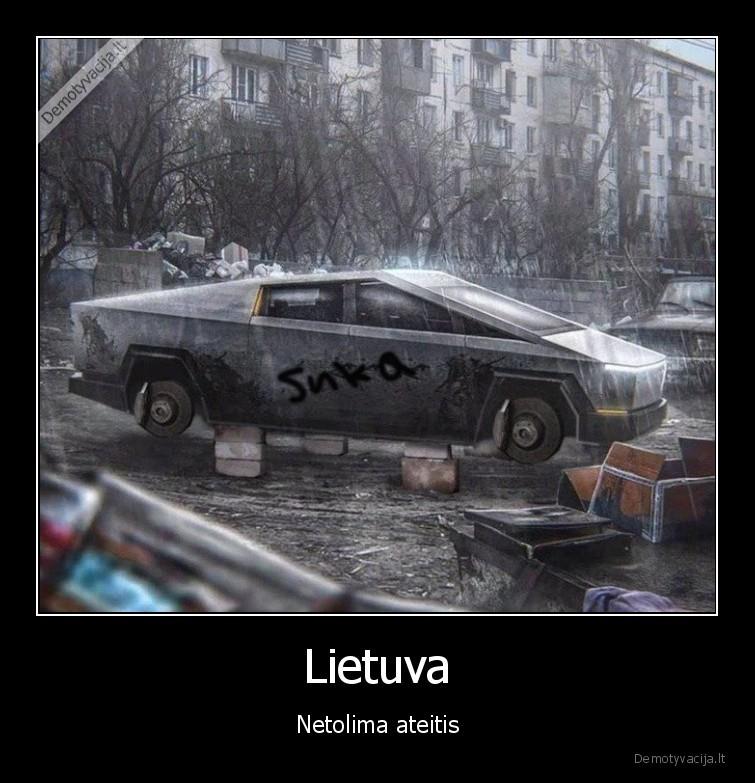 Lietuva Netolima ateitis