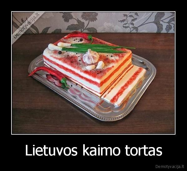 Lietuvos kaimo tortas