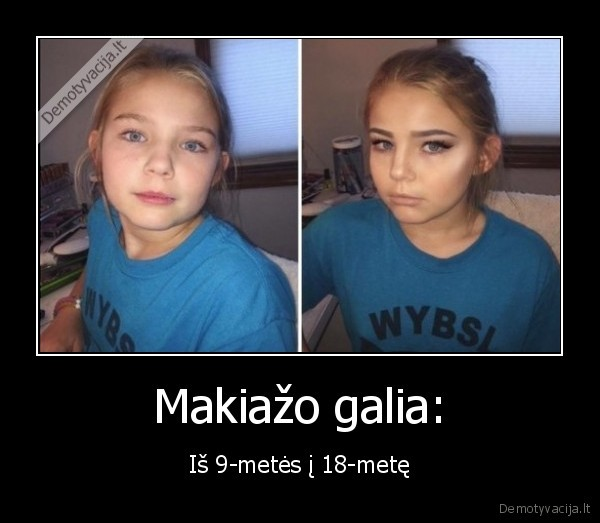 Makiazo galia Is 9 metes i 18 mete
