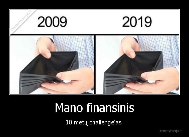 Mano finansinis 10 metu challengeas