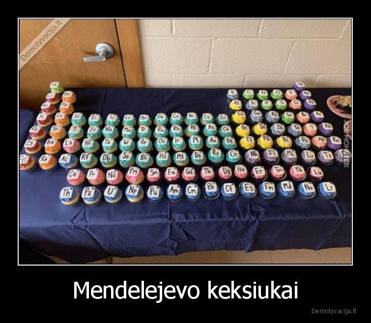 Mendelejevo keksiukai