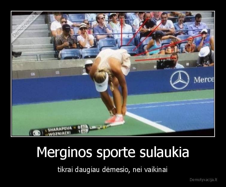 Merginos sporte sulaukia tikrai daugiau demesio nei vaikinai