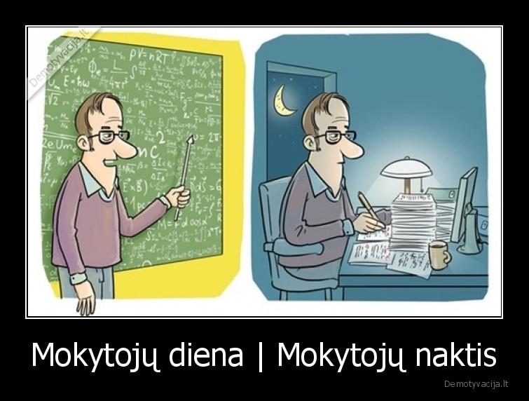 Mokytoju diena Mokytoju naktis