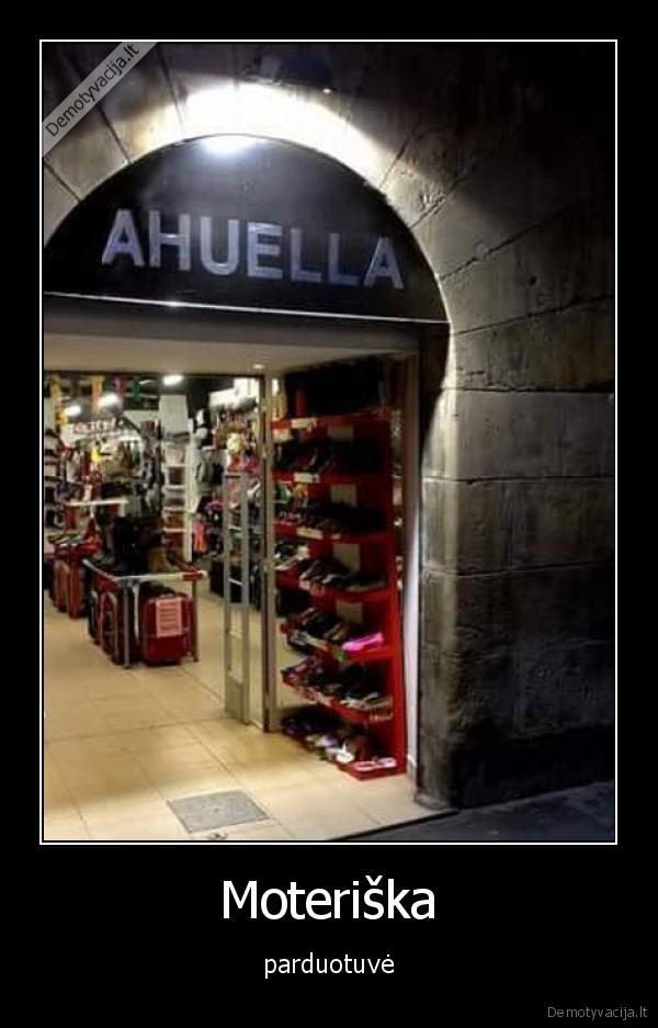 Moteriska parduotuve