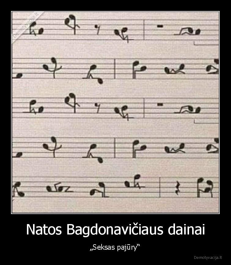 Natos Bagdonaviciaus dainai Seksas pajury