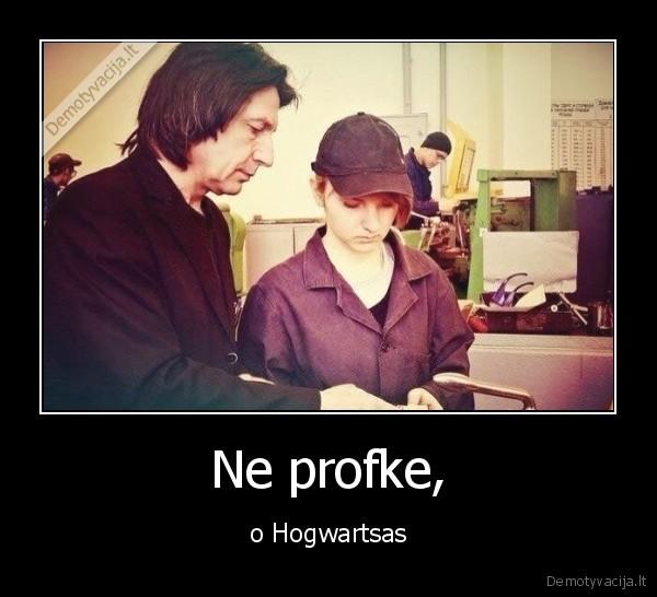 Ne profke o Hogwartsas