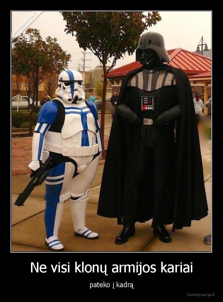 Ne visi klonu armijos kariai pateko i kadra