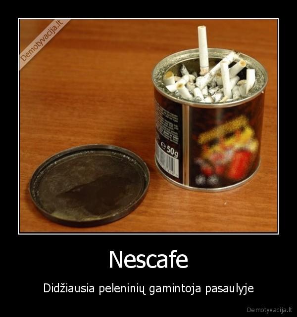 Nescafe Didziausia peleniniu gamintoja pasaulyje