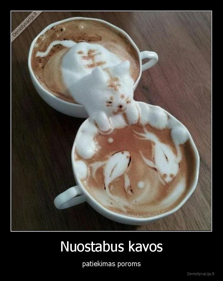 Nuostabus kavos patiekimas poroms