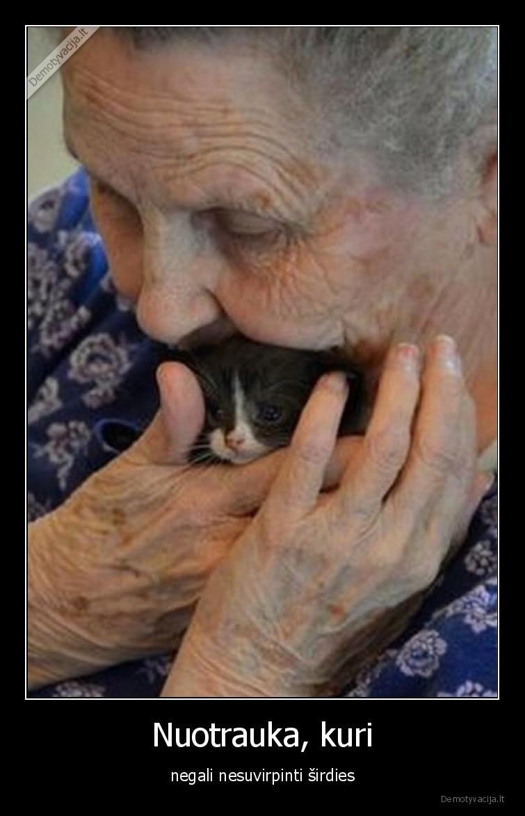 Nuotrauka kuri negali nesuvirpinti sirdies
