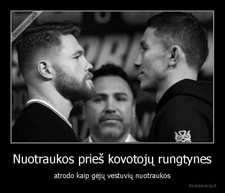 Nuotraukos pries kovotoju rungtynes atrodo kaip geju vestuviu nuotraukos