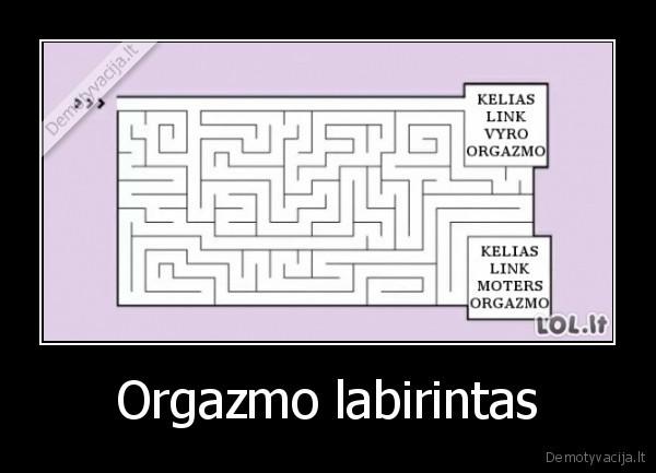 Orgazmo labirintas