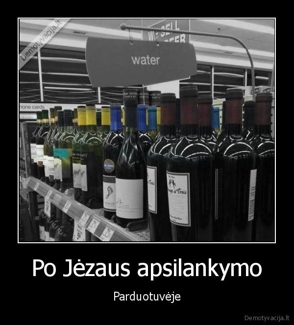 Po Jezaus apsilankymo Parduotuveje