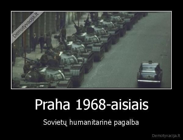 Praha 1968 aisiais Sovietu humanitarine pagalba