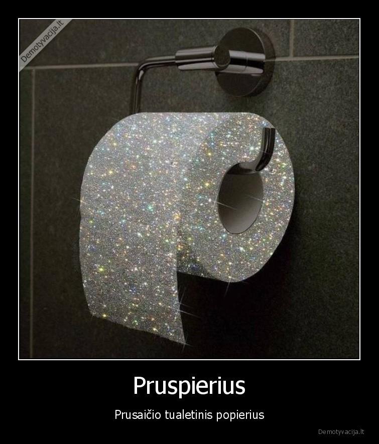 Pruspierius Prusaicio tualetinis popierius