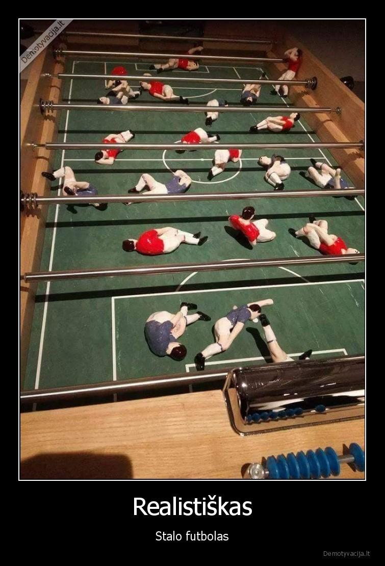 Realistiškas - Stalo futbolas.