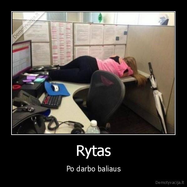 Rytas Po darbo baliaus