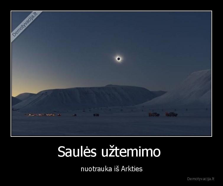 Saules uztemimo nuotrauka is Arkties