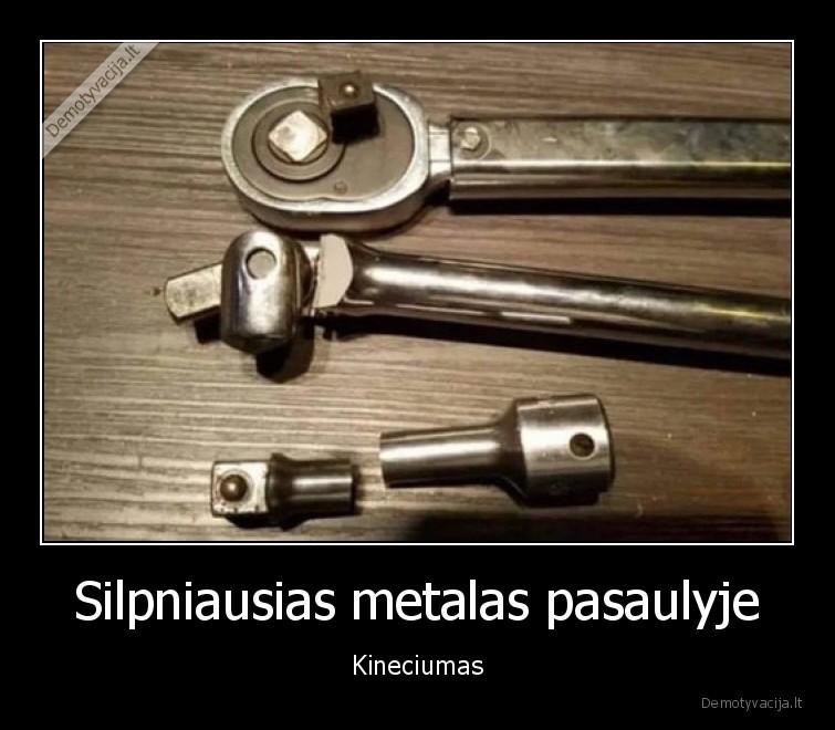 Silpniausias metalas pasaulyje Kineciumas