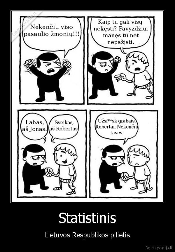 Statistinis Lietuvos Respublikos pilietis